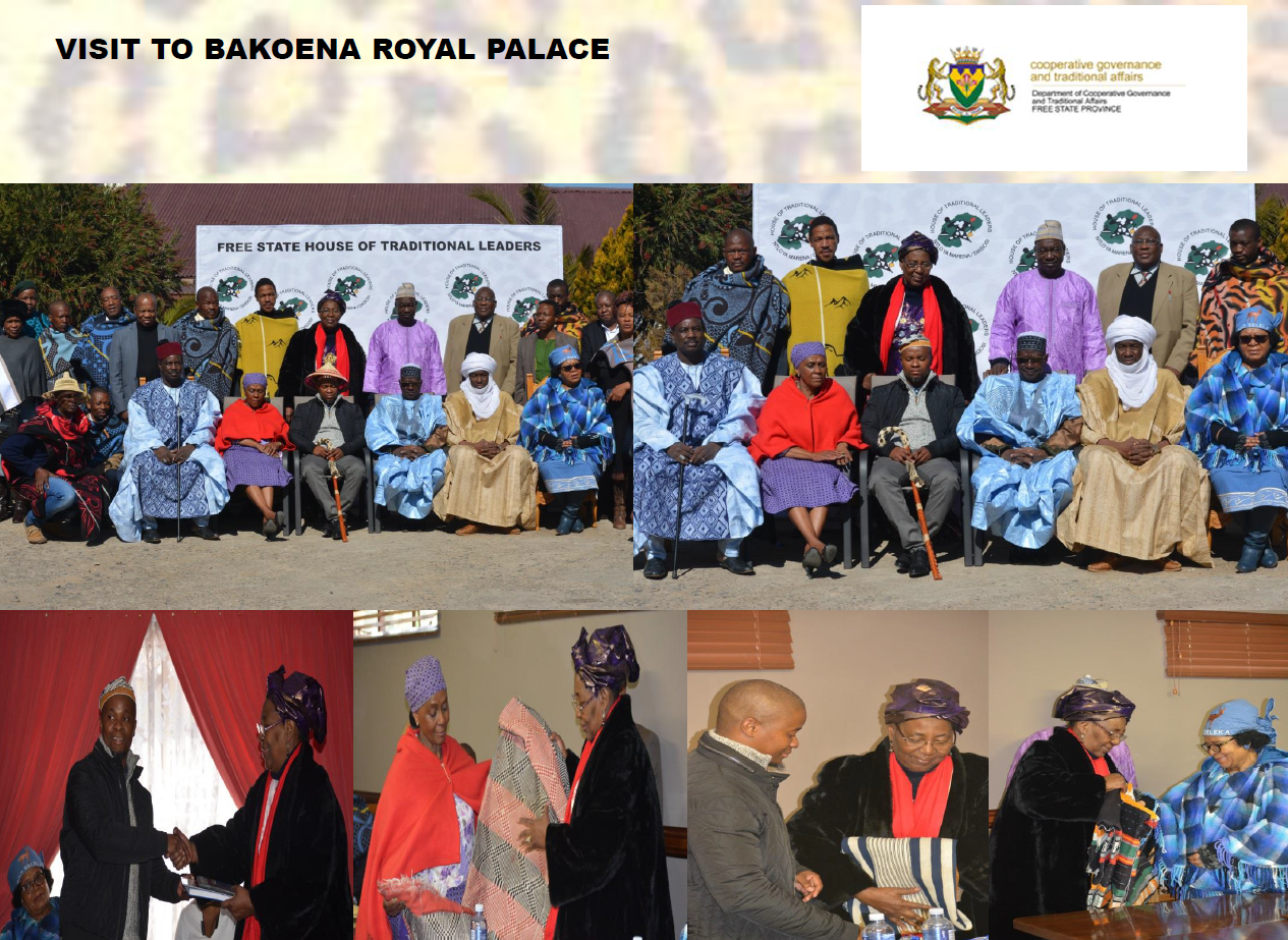 Visit to Bakoena Royal Palace