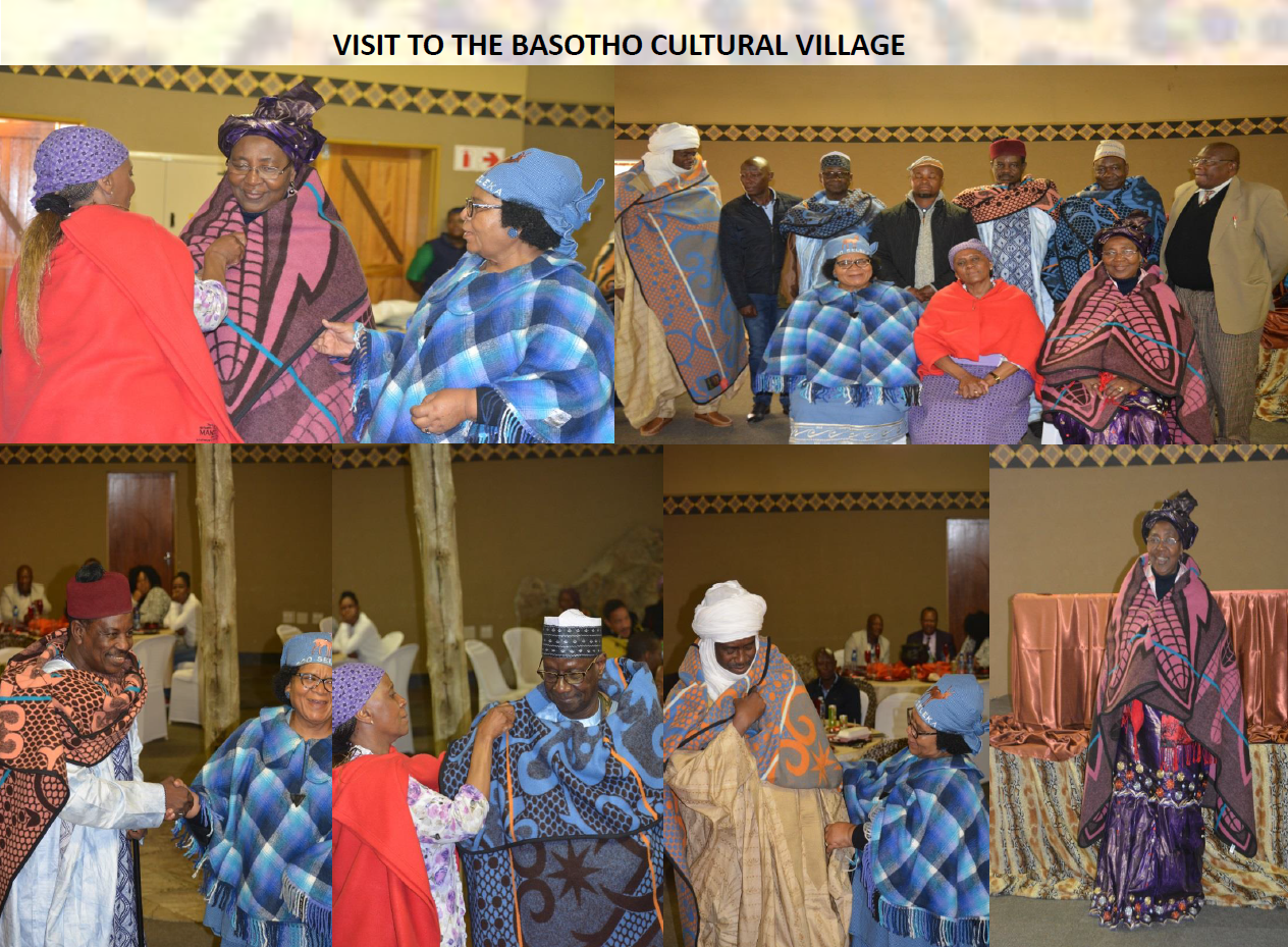 Visit to the Basotho Cultural Village